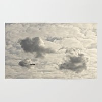 plane Area & Throw Rugs featuring Plane  by Arran.Sahota