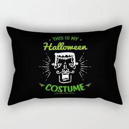 This Is My Halloween Costume Frankenstein Gift Rectangular Pillow