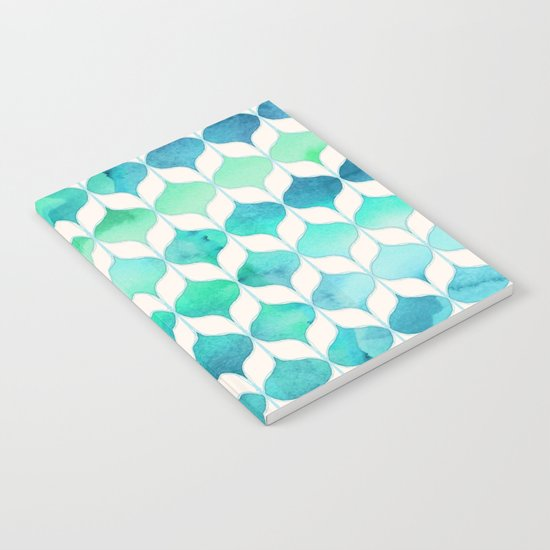 Ocean Rhythms and Mermaid's Tails Notebook