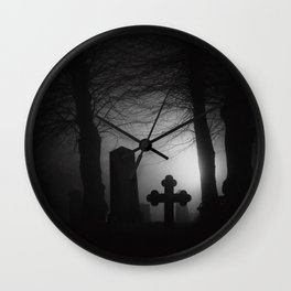 Where spirits wander Wall Clock