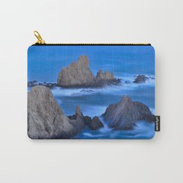Blue sunset at the singing Mermaid Reef Carry-All Pouch