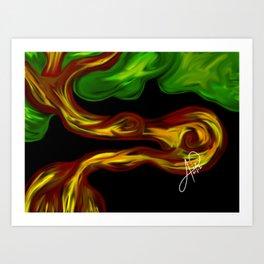 Arbol 002 Art Print