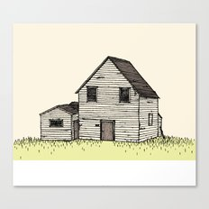 old house Canvas Print