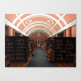 Library I Canvas Print