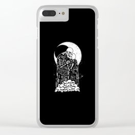 The Kiss of Death Clear iPhone Case