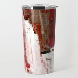 Abstract Horse Travel Mug