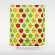 Cutie Fruity Shower Curtain
