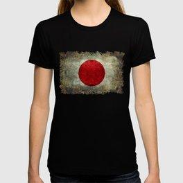 National flag of Japan - Super Grunge T-shirt