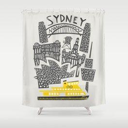 Sydney Cityscape Shower Curtain