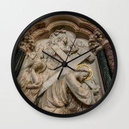 Cross of Calvary Wall Clock