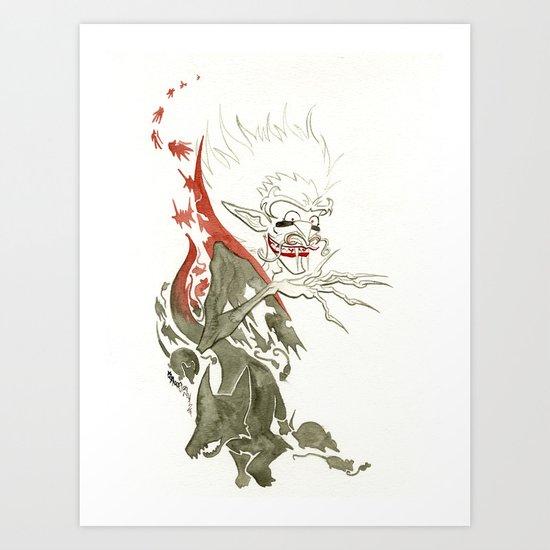 Dracula Art Print
