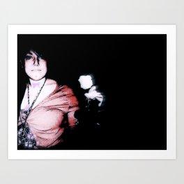 LOVE//EVOL Art Print