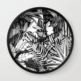 Fronds + Foliage Wall Clock