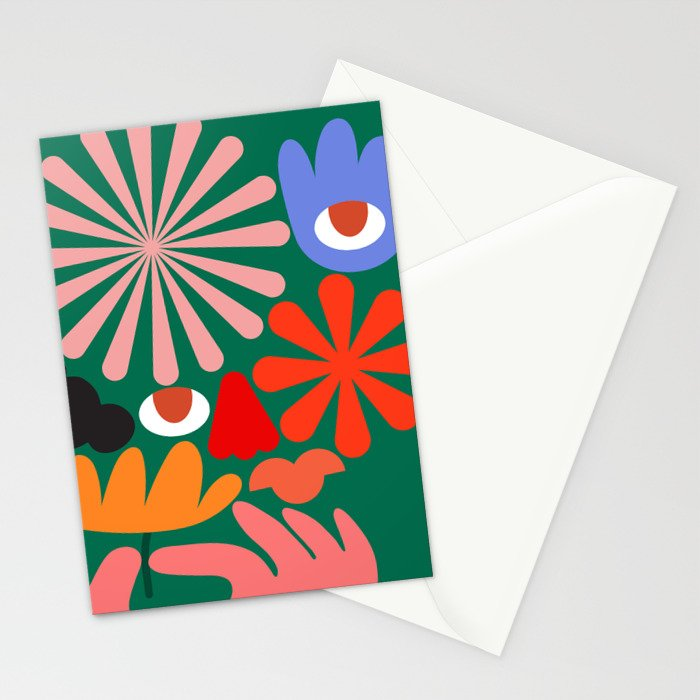 Don't Tell Me What's Figurative Stationery Cards