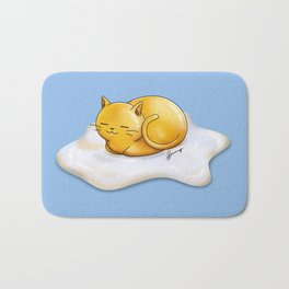 Sunny-side Up Cat Bath Mat