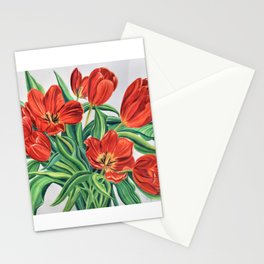 Wild Tulips Stationery Cards