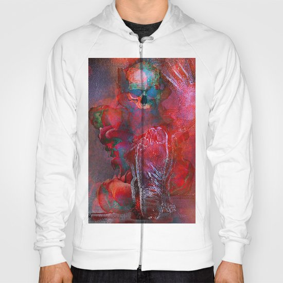 Abstract Skull Hoody