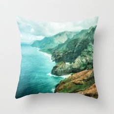Na' Pali Coast 2015 Throw Pillow