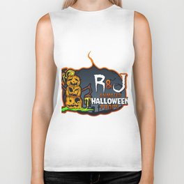 R and J logo white Biker Tank