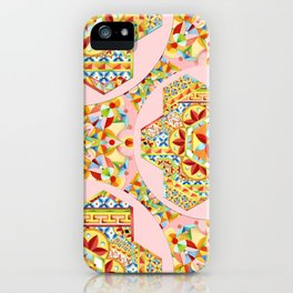 Pink Polka Dot Gypsy Caravan iPhone Case