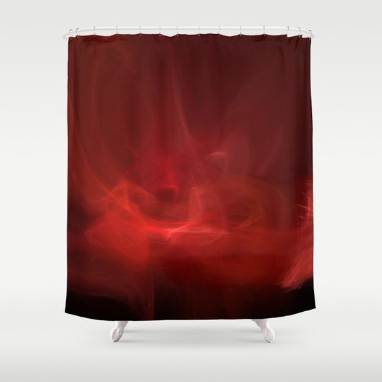 The Color of Passion Shower Curtain
