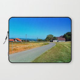 Another country road in summertime Laptop Sleeve