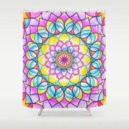 Mandala 16 Shower Curtain