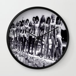 Miss Festival de Cannes 1956 Wall Clock