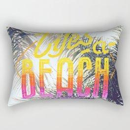 Lifes a beach Rectangular Pillow