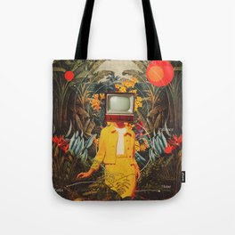She Came from the Wilderness Tote Bag