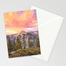 Yosemite Valley Summer Sunrise Stationery Cards