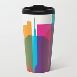 Shapes of Boston. Accurate to scale Metal Travel Mug