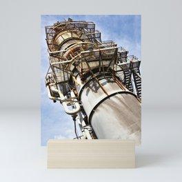 Gas scrubber used for blasting furnace Mini Art Print