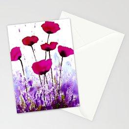 Poppy Meadow Stationery Cards