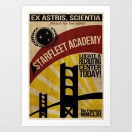 Starfleet Wants YOU! Art Print