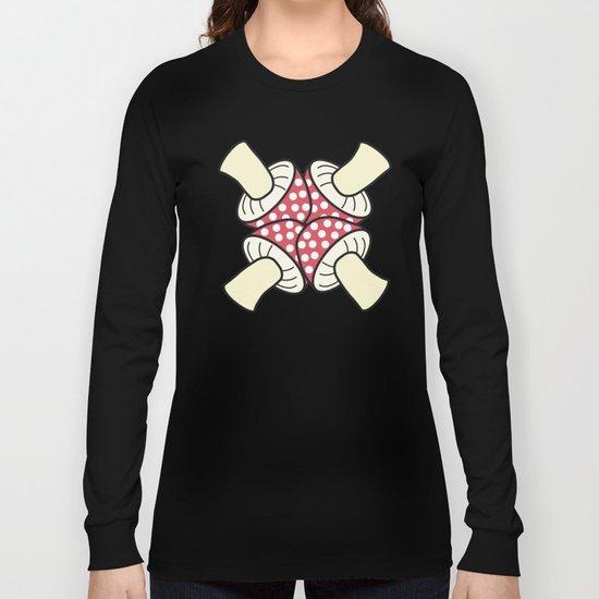 mashroom cross Long Sleeve T-shirt