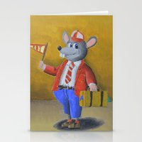 college Stationery Cards featuring College Rat by Wintoons