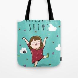 SHINE. Tote Bag