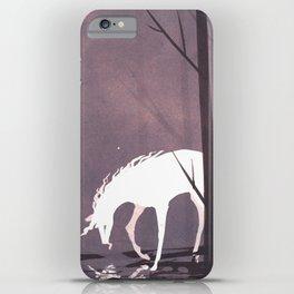 The Unicorn's Reflection iPhone Case