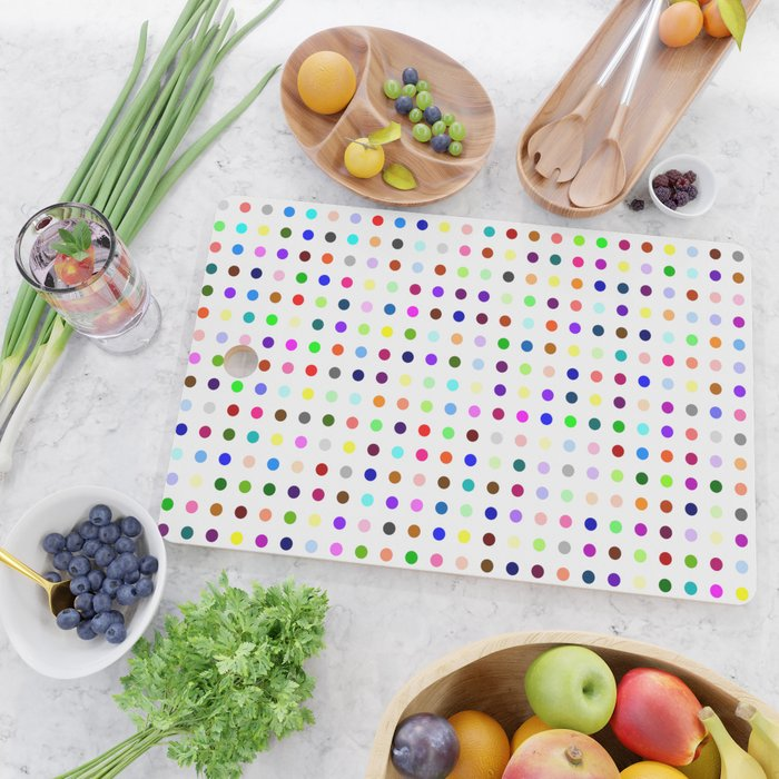 Big Hirst Polka Dot Cutting Board