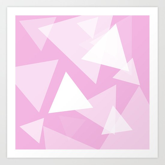 Triangle Mass Art Print