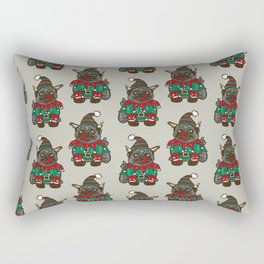 Elf puppy pug Rectangular Pillow
