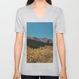 Fall Mountain Unisex V-Neck