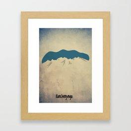Kanchenjunga - The Lone King Framed Art Print
