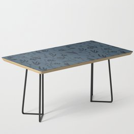 Wild Cosmos, Denim Blue Coffee Table