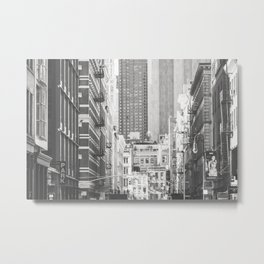 Once in Soho - New York City Photography Metal Print