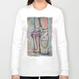 Ballet Slippers Long Sleeve T-shirt