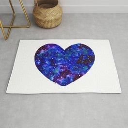 Space Heart Rug