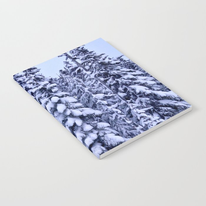 Snow Trees  Notebook