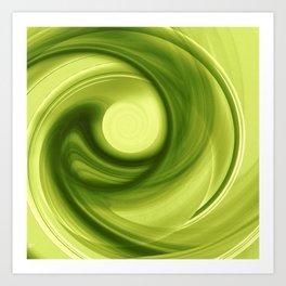 Daydreams of Green Art Print